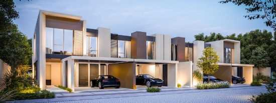 Cherrywoods Townhouses by Meraas at Al Qudra Road,